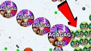 Agar.io Solo REVENGE Biggest Take Over Agar.io Mobile Best Moments Gameplay