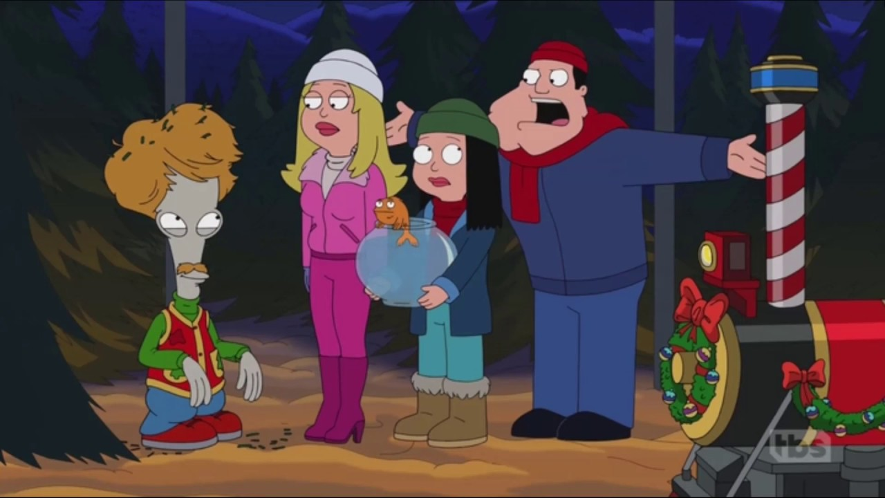 American Dad Christmas Episodes.American Dad Roger S Grindr Hd Christmas Episode Clip