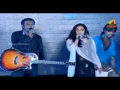 Nithya Menon Singing | Tu Hi Rey Song | Gunde Jaari Gallanthayyinde Audio Launch | Nitin