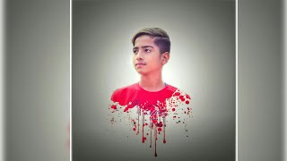 Splatter effect PicsArt editing || photo editing splatter effect tutorial || (Parteek and Rohit )