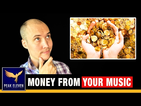 11 Ways to Make Money from Your Music