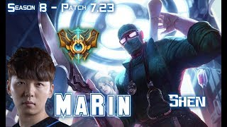 MaRin SHEN vs JAYCE Top - Patch 7.23 KR Ranked