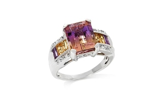 Colleen Lopez 7.11ctw Ametrine and Gem Ring thumbnail