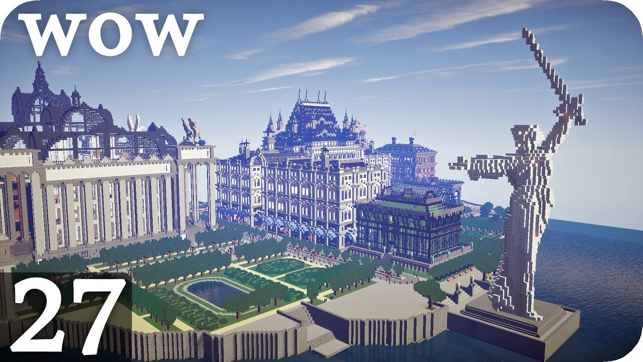 Imperial City Wow Episode 27 Minecraft De Youtube