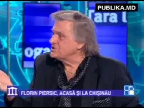 Florin Piersic, despre Dorin Chirtoacă: De unde să ştiu eu că puţoiul ăla este primarul Chişinăului