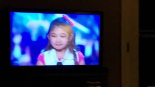 Chris Hardwick Golden Buzzer LIVE REACTION for Angelica Hale!