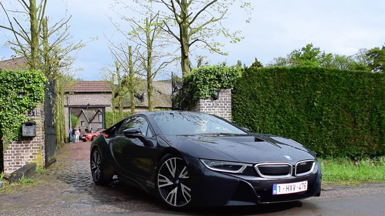 LOUD Black Blue BMW I8 SOUNDS