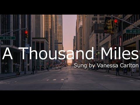 A Thousand Miles和訳&英文歌詞