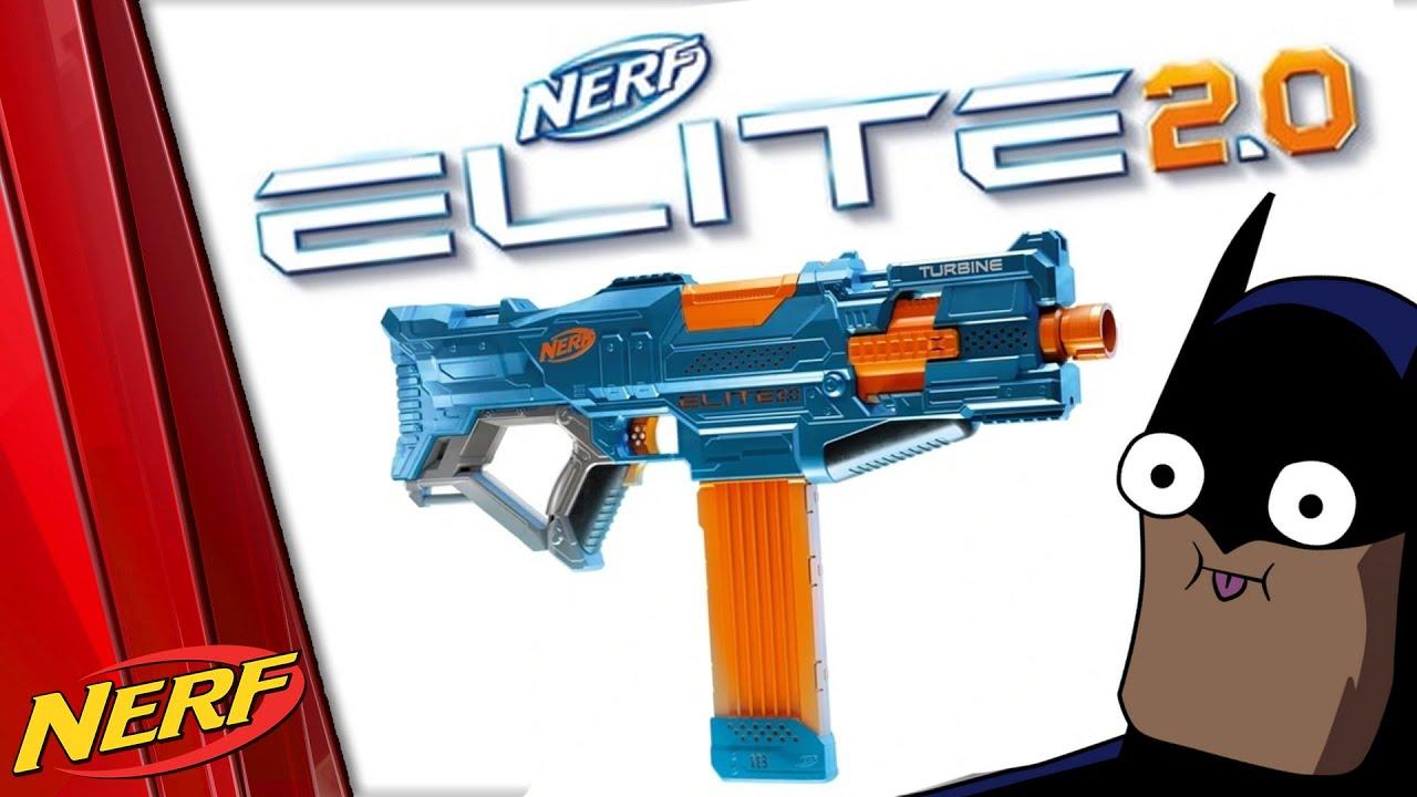 NERF Novinky 2020 - ELITE 2.0