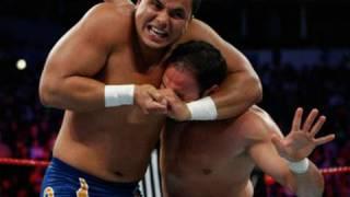 WWE Superstars: Primo & Gail Kim vs. Chavo Guerrero &