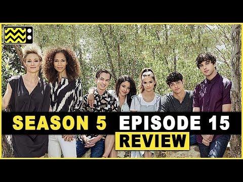 The Fosters Season 5 Episode 15  w Sherri Saum & Bradley Bredeweg  AfterBuzz TV