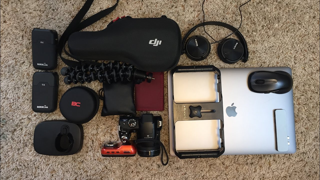 What's In My Camera Bag 2018.