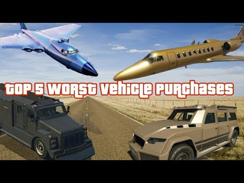 GTA My Top 5 Worst Vehicle Purchases