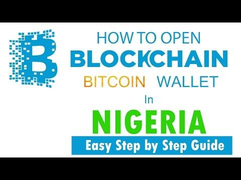 How To Open Blockchain Bitcoin Wallet Account