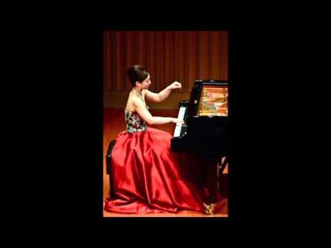 J. S. Bach Sinfonia (Three-Part Invention) No. 2 in C minor BWV 788 Ai Kayukawa