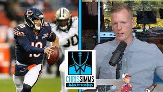 Game Review: Mitch Trubisky vs. Saints' defense NFL Week 7   Chris Simms Unbuttoned   NBC Sports
