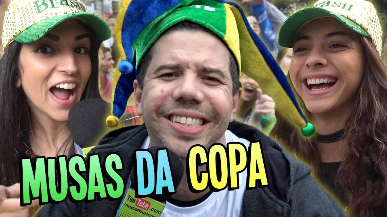AS MUSAS BRASILEIRAS DA COPA