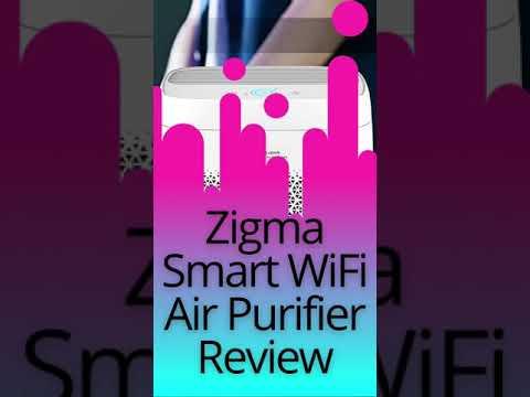 Zigma Smart WiFi Air Purifier Review  #shorts