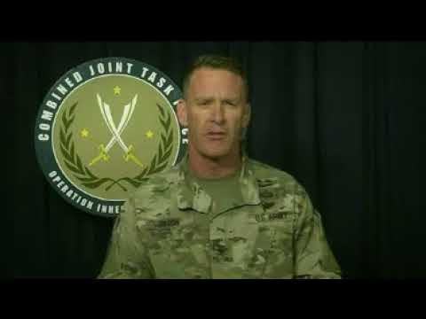 Inherent Resolve Spokesman Briefs on Latest Gains Against ISIS in Iraq and Syria