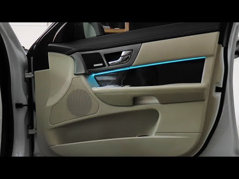 How to install front door ambient lighting – Jaguar XFR