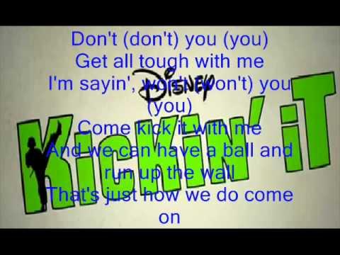 Kickin' It Theme Song Lyrics