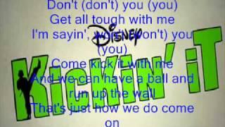 Kickin It Theme Song Lyrics