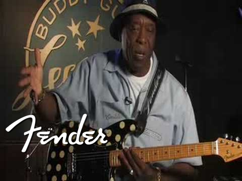 Buddy Guy Interview - Playing Fender® Stratocaster® Guitars | Fender