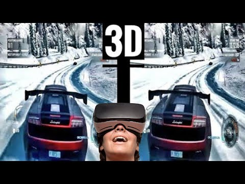 VR Video 3D VR Need for Speed VR 3D SBS [Google Cardboard VR Box 3D 360 VR] Virtual Reality 3D
