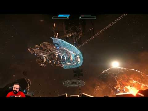 Star Citizen 4th of July Fireworks & Festivities Compilation