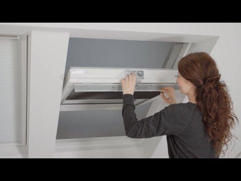 Austausch Der Schaumdichtung Luftungsklappe Bei VELUX Dachfenstern Ab Baujahr 2013