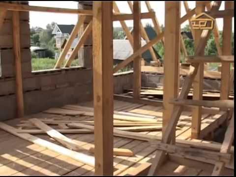 Фанера-Простой дом полы и стены