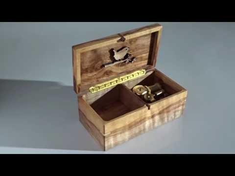 Voi che sapete Mozart, 18 note music box