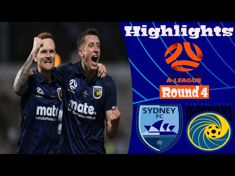 Sydney Central Coast Goals And Highlights