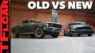 Old vs New: How does the New Mustang Bullitt Compare to the Original?