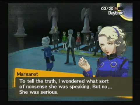 Persona 4 - Margaret reveal more on Elizabeth Departure from Velvet Room