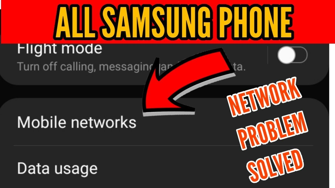 Samsung XCover Pro Network Not Working & Not Showing Problem Solved
