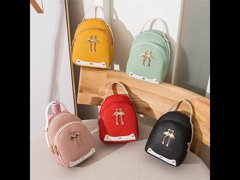 Fashion 2020 Girls Double Shoulder Bag