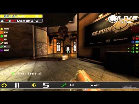 DaHanG vs evil - Quakecon 2014 Group A Round 2 (Quake Live VOD)