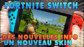 FORTNITE SWITCH:NEWS INFO AND A NEW SKIN FOR THE SWITCH SORTIE