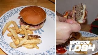 HOMEMADE BURGERS AND FRIES!! - December 13,2016 (Day 1,094)