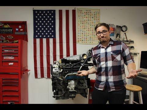 Nissan 350z Engine Build Part 1, Metal in Oil of New Motor???