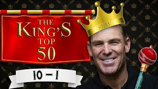 Shane Warne's top wickets on Aussie soil: 10-1