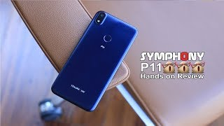 Symphony P11 | Super Slim Smartphone with 4000 mAh Battery 😯