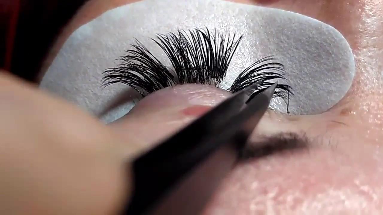 Ugly Eyelashes Bad Eyelashes Extension Youtube