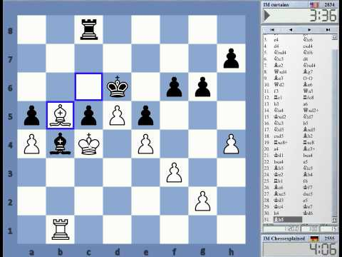 Rapid Chess vs IM Greg Shahade (curtains) - Dual Commentary