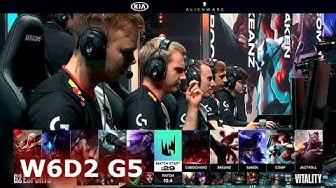 G2 Esports vs Vitality | Week 6 Day 2 S10 LEC Spring 2020 | G2 vs VIT W6D2
