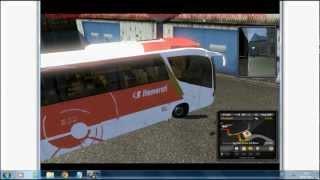 Como instalar ônibus no euro truck simulator 2