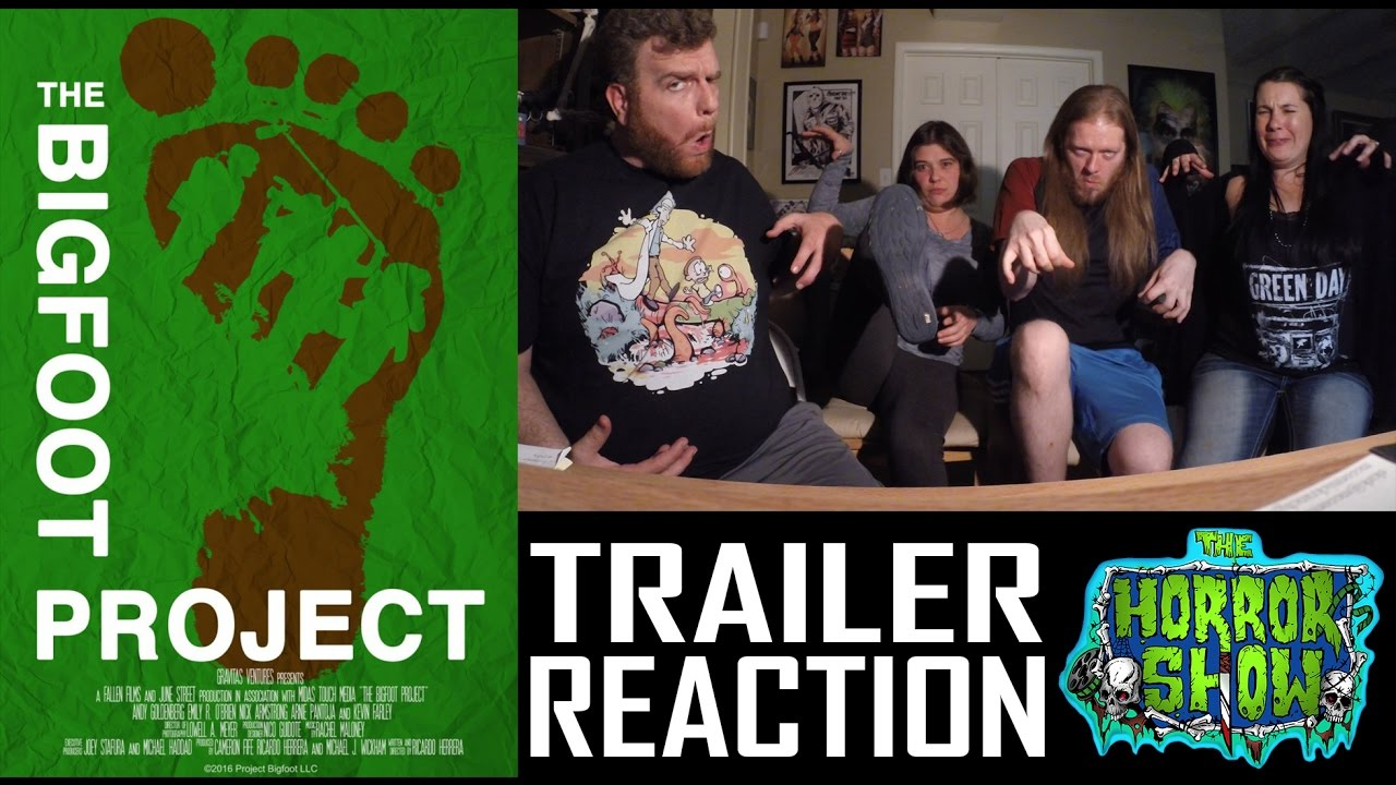 """Download """"The Bigfoot Project"""" 2017 Horror Movie Trailer Reaction - The Horror Show"""