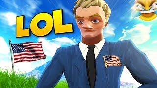 Protecting default PRESIDENT on Fortnite...