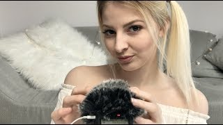 [ASMR] ♡ Fluffy Sleepy Whispers | german/deutsch